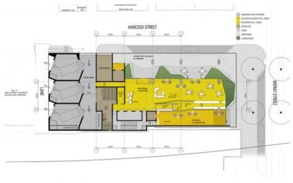 Osnove zgrade na karakterističnim etažama