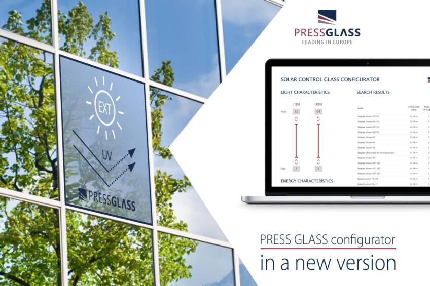 PRESS GLASS konfigurator u novoj verziji