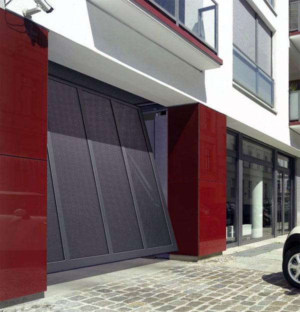 Hörmann garažna vrata imaju veliki izbor materijala za frontove