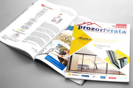 """Arhitekte čitaju časopis """"Prozori&Vrata"""" i prate portal prozorivrata.com"""