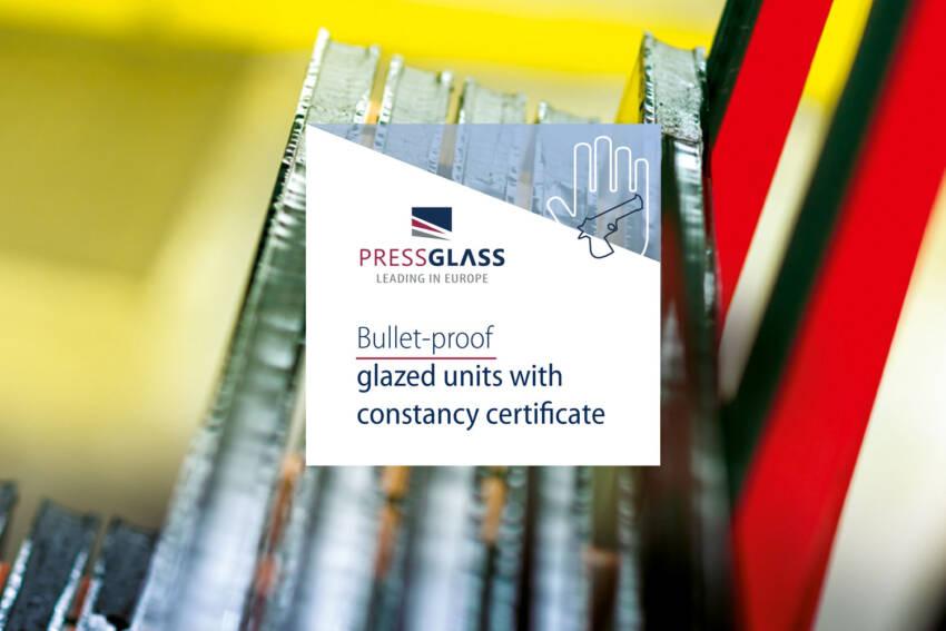 Sertifikovano staklo otporno na metke od kompanije PRESS GLASS