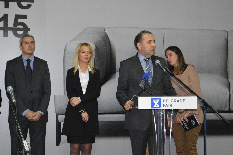 Ministar trgovine, turizma i telekomunikacia Rasim Ljajić