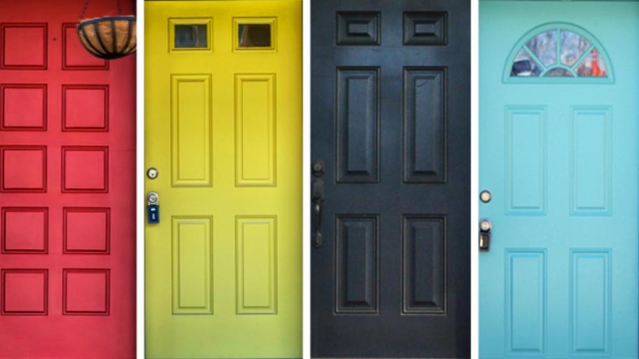 Vrata u boji govore kakav smo karakter