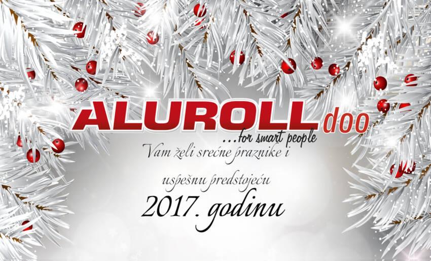 Kompanija Aluroll vam želi uspešnu godinu