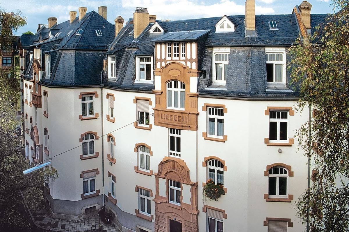 Kompleks Rodheim, Njemačka - obnova objekata zaštićene arhitektonske baštine prozorima TROCAL