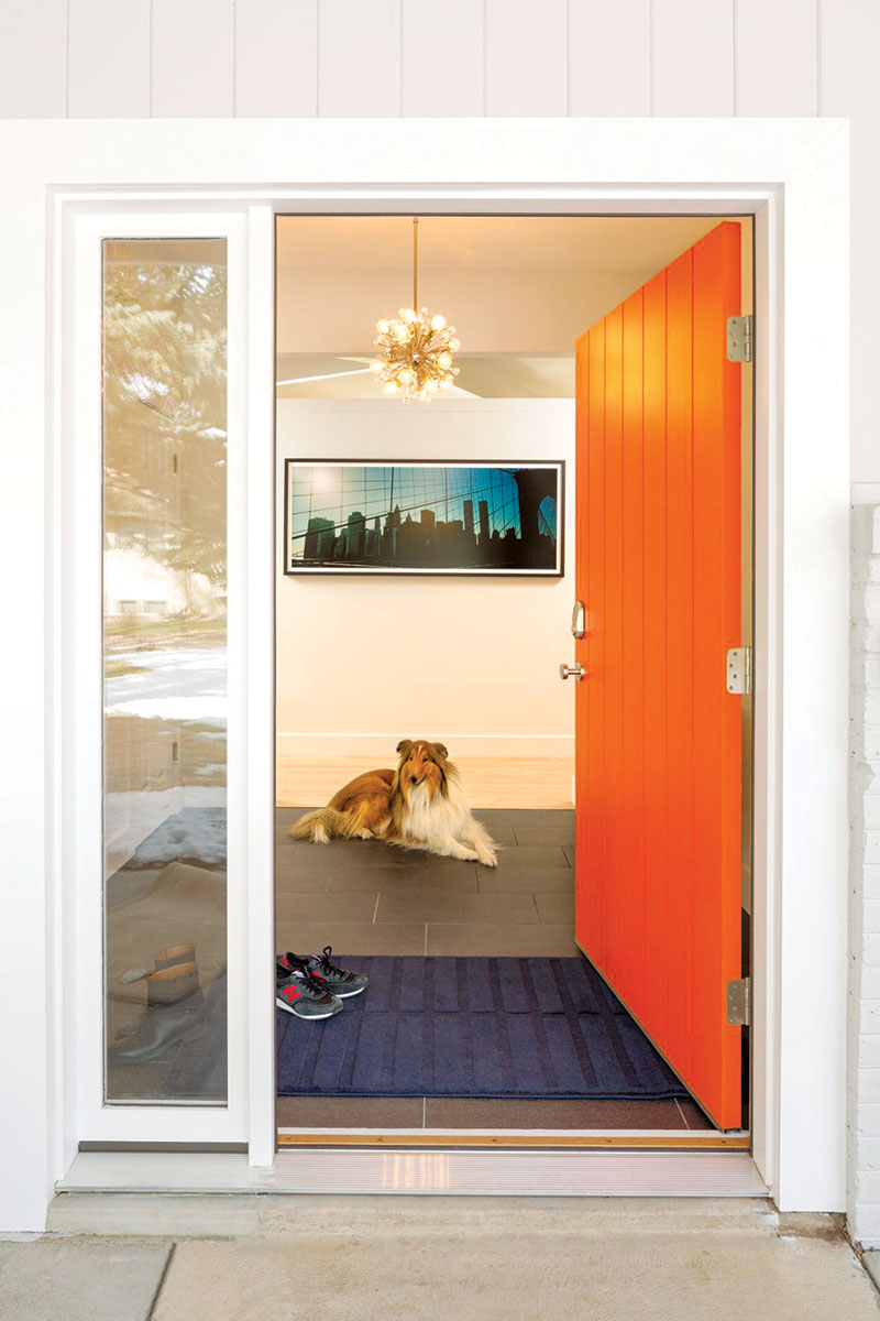 Narandžasta ulazna vrata