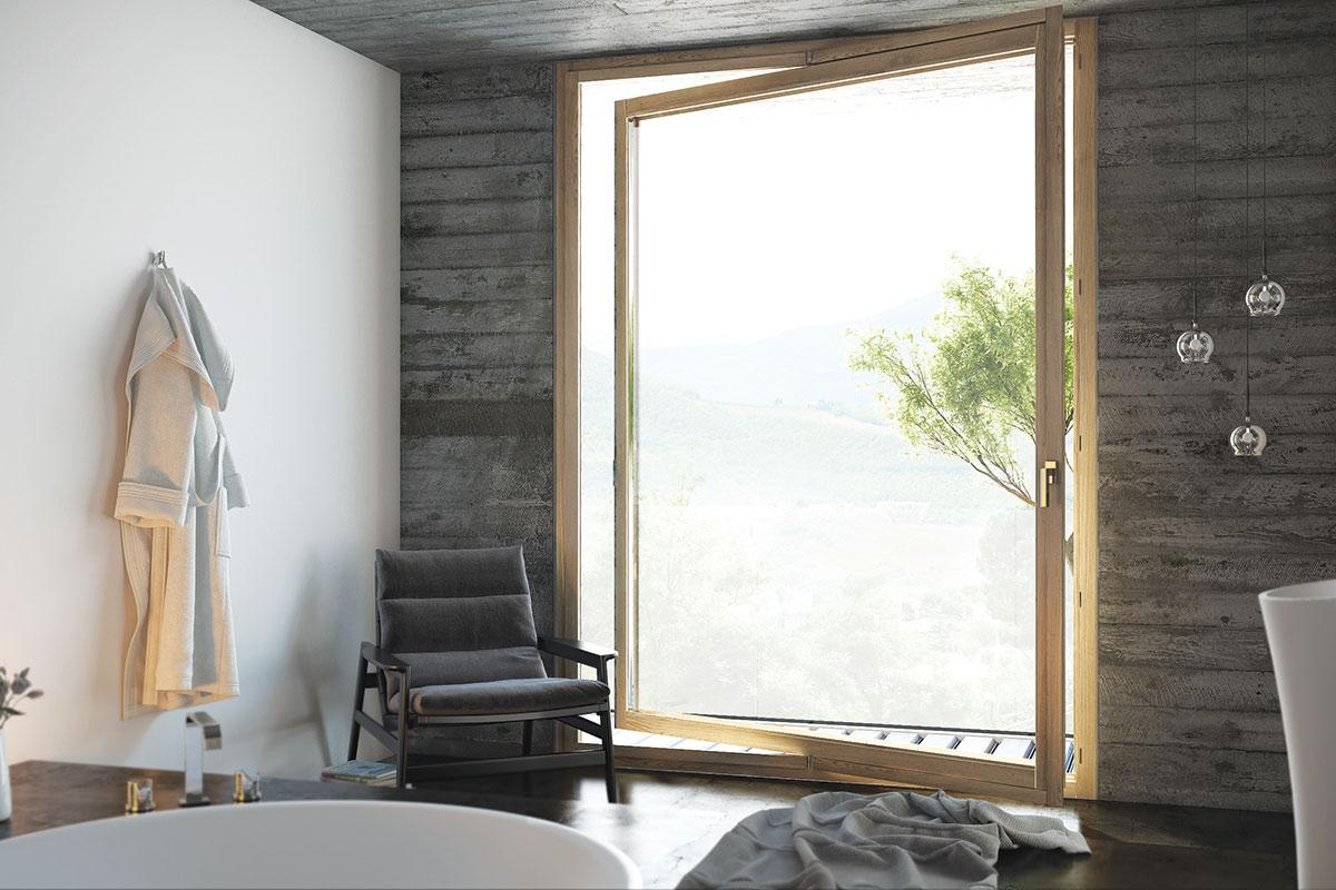 Aluminijum i drvo - Sinergija materijala za prozor visokih performansi