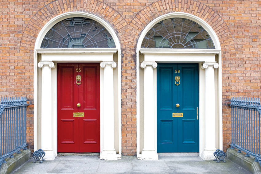 Ulazna vrata u različitim bojama za vaš dom