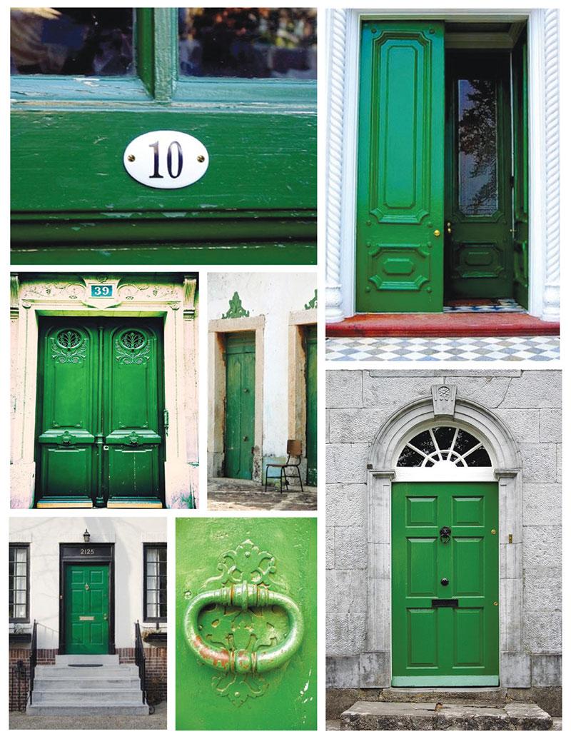 Zelena ulazna vrata