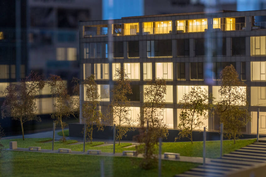 RTV zgrada maketa 10