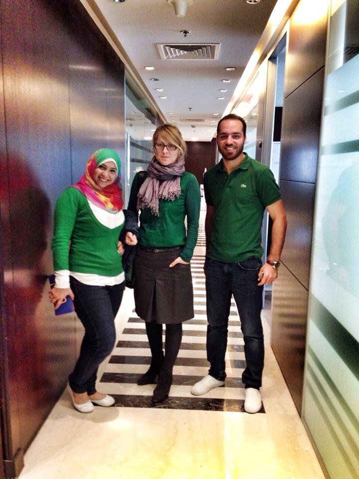 Ivana sa kolegama u Dohi