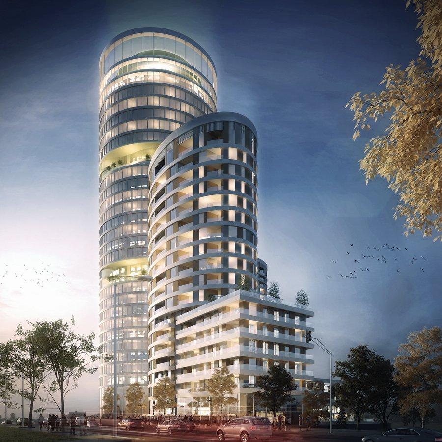 """Foto: Izgled zgrade nazvane """"Skyline Belgrade"""""""