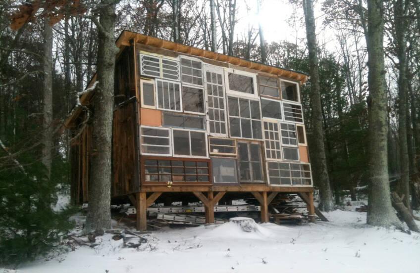 Zimska idila u prirodnom okruženju