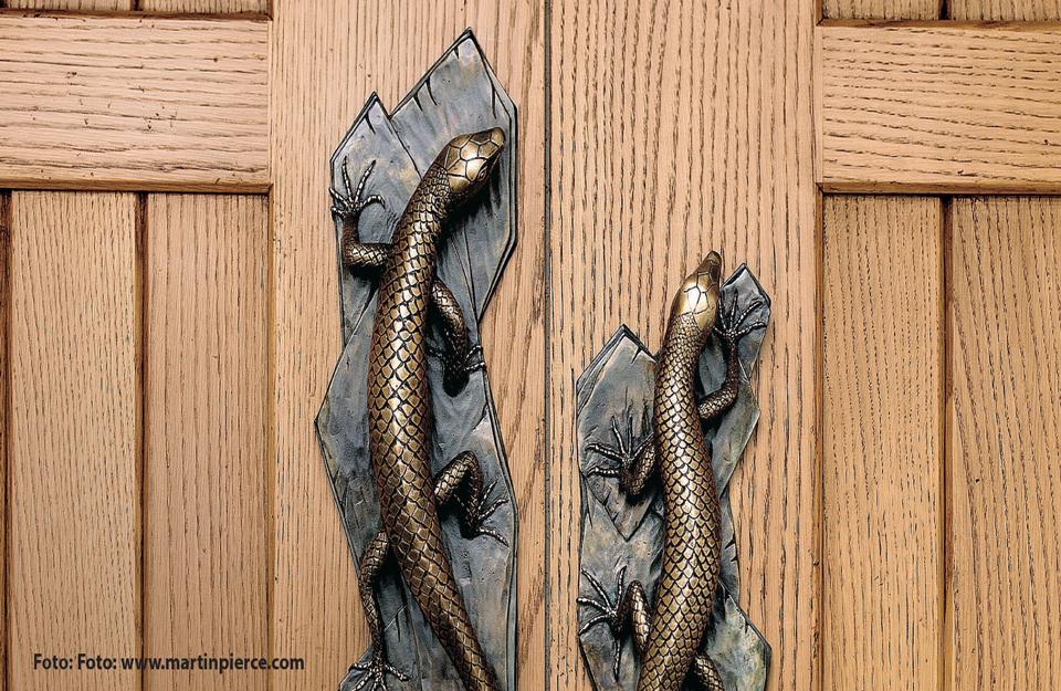 Životinje kao motiv na elementima vrata