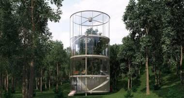 Staklena kuća idealna je za decu
