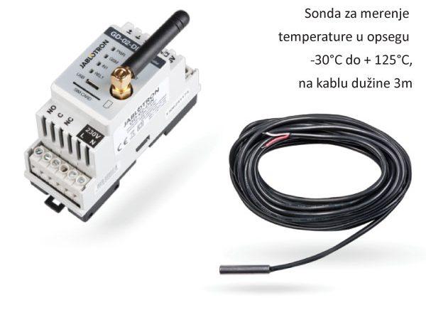 Lunatronik d.o.o. - kontrola temperature preko SMS poruke i besplatnog poziva – samostalni uređaj