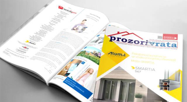 Časopis PROZORI&VRATA broj 19, februar 2017