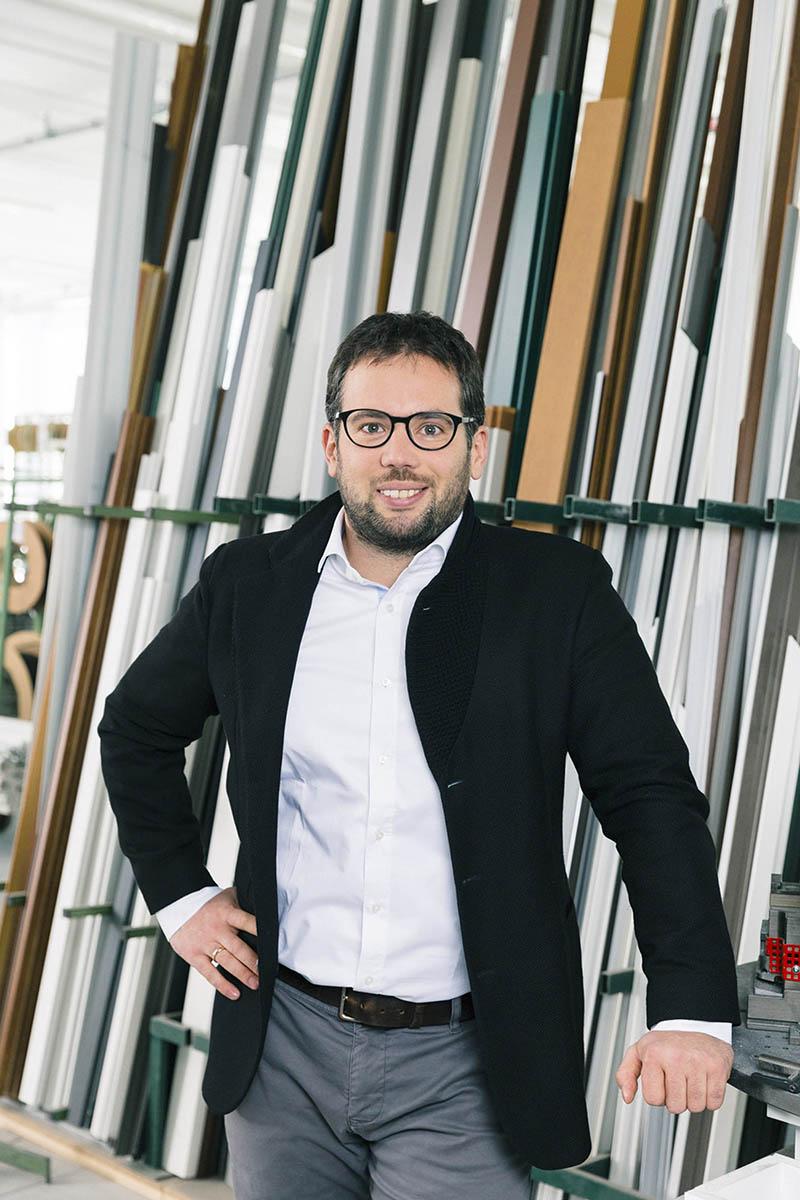 Florian Oberrauch, menadžer proizvodnje u kompaniji Finstral AG