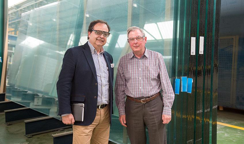 Josep Planes, Cristec's generalni menadžer (desno)