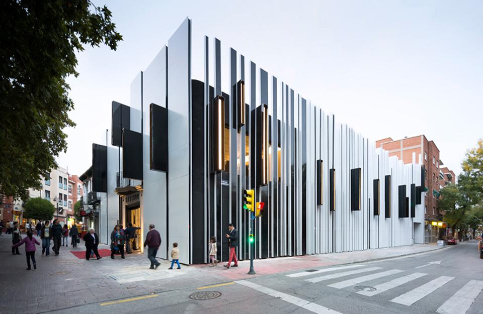 Neobičan dizajn fasada