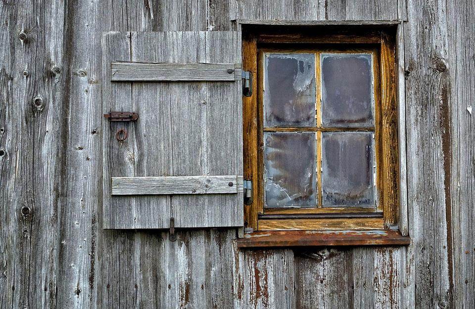 Stari drveni prozori