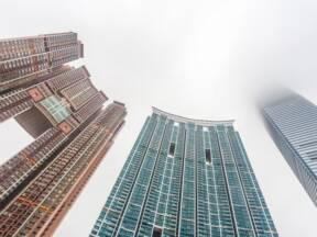 Rupe za zmajeve na zgradama u Hong Kong-u