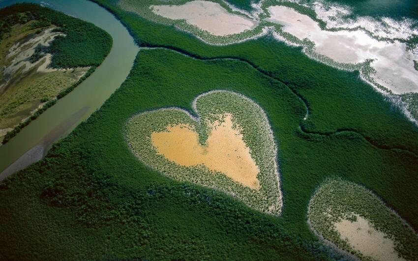 Solarna elektrana u obliku srca nalazi se novoj Kaledoniji