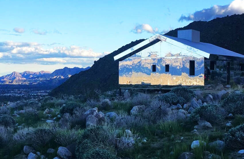 Kuća na kojo se pejzaž oslikava