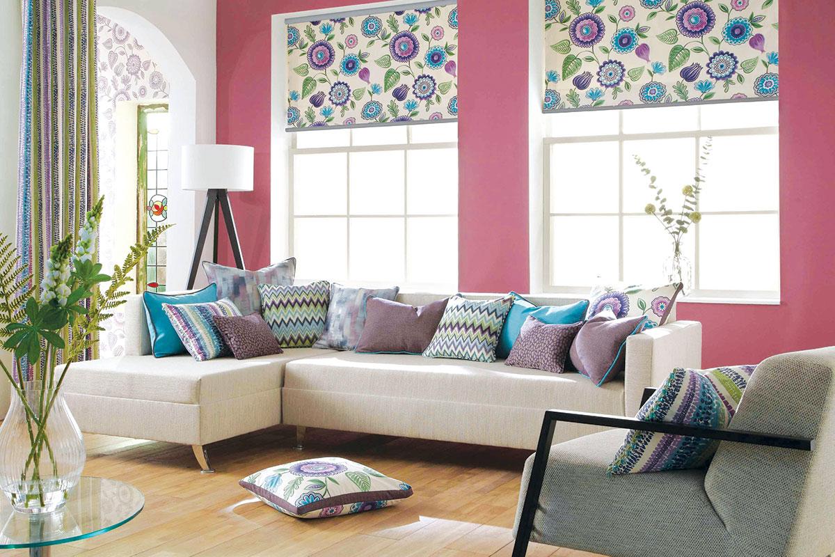 Zavese sa dekorativnim printom