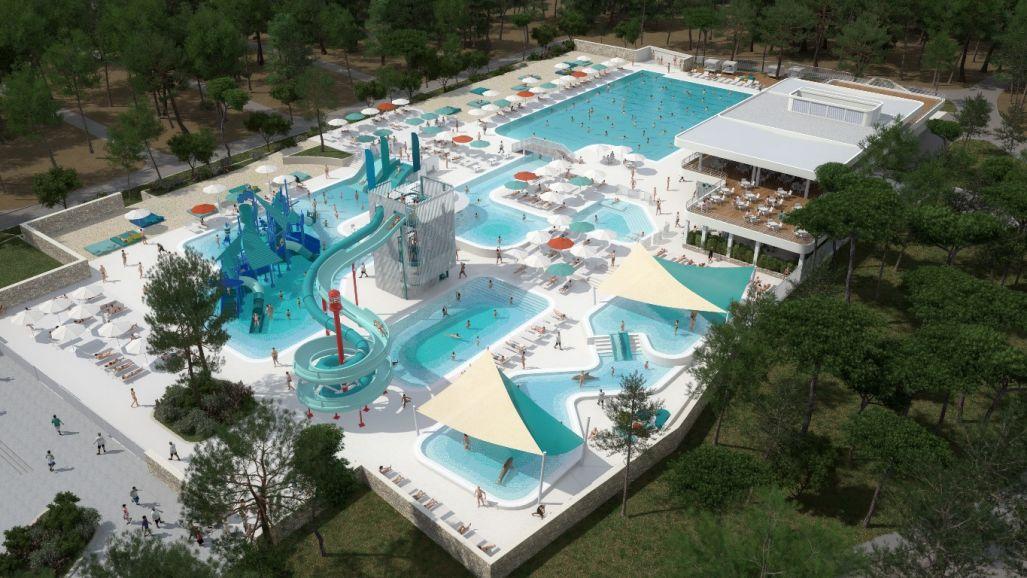 Pored zatvorenog i otvorenog bazena, bilo bi poželjno izgraditi akvapark