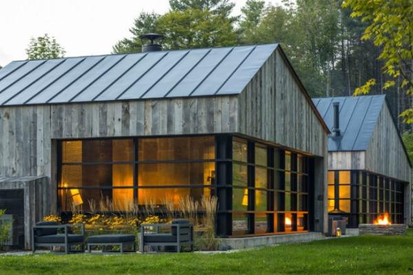 Drvena kuća u zapadnom Vermontu