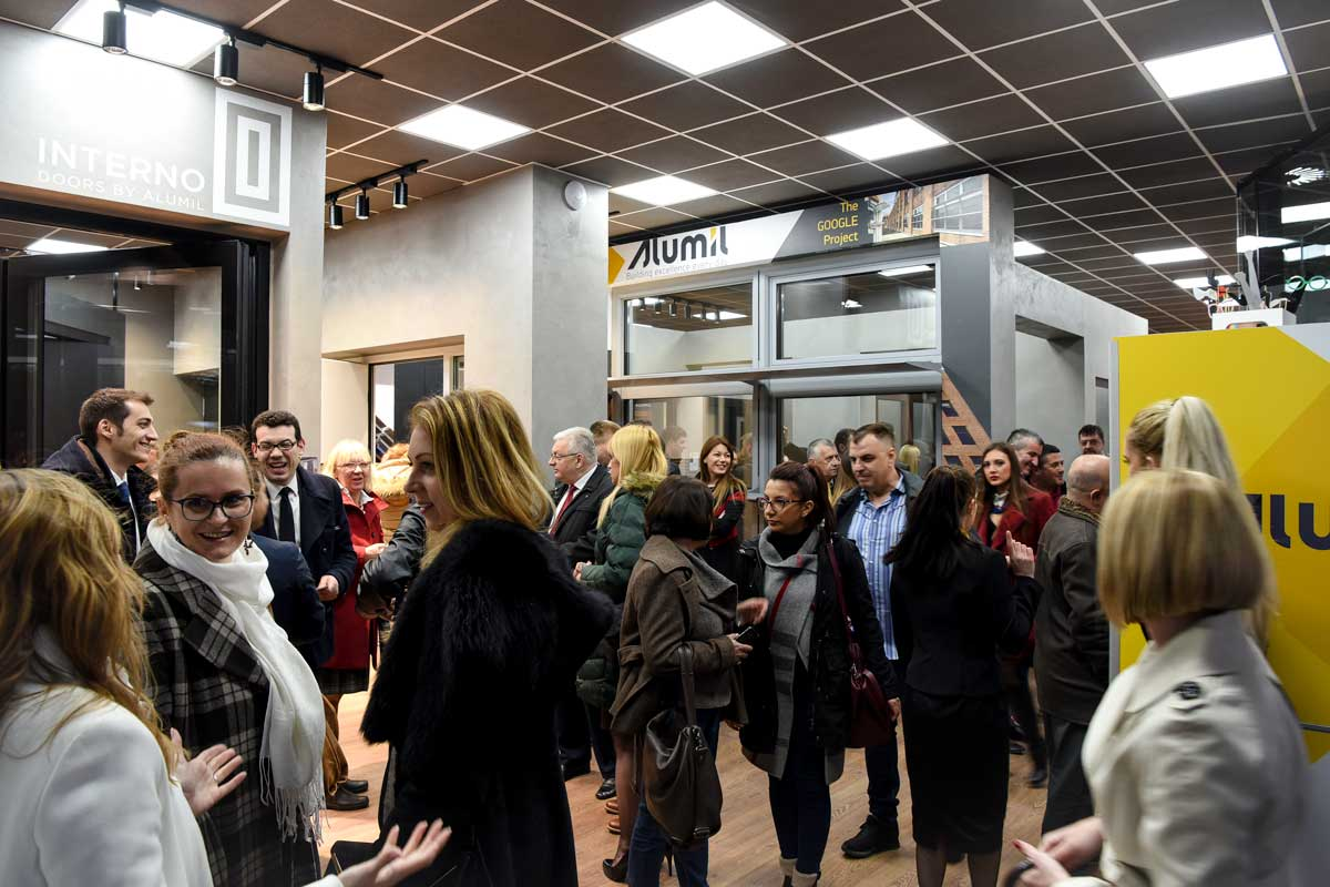 ALUMIL, otvaranje novog izložbenog salona u Beogradu