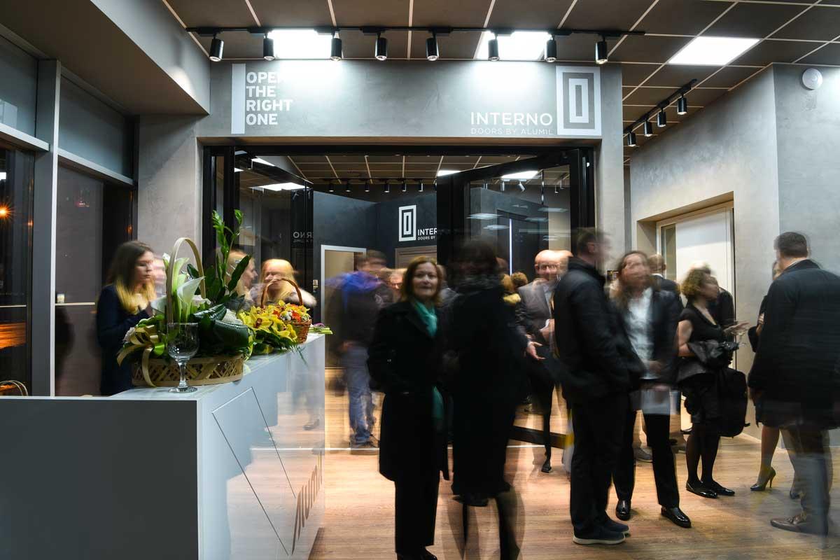posetioci su imali priliku da vide nove napredne Alumil proizvode koji oslikavaju inovativnu filozofiju jedinstvenih Alumil rešenja