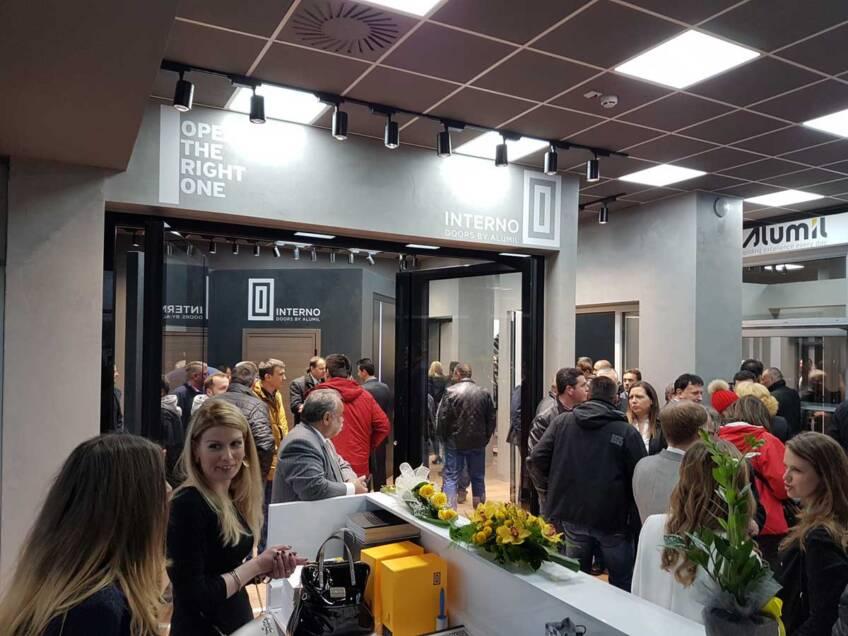 Otvaranje novog izložbenog salona u Beogradu