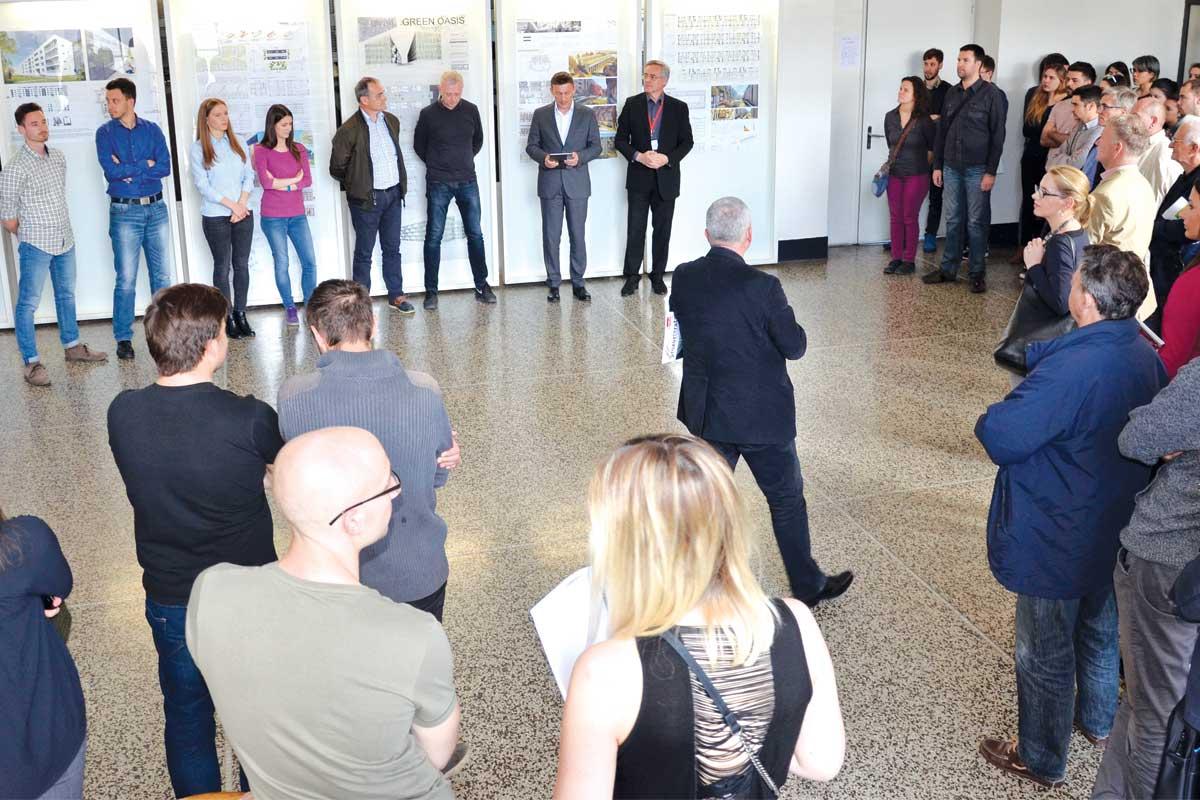 Prezentirani su arhitektonski projekti i ostvarenja, istraživački i razvojni projekti Europske unije