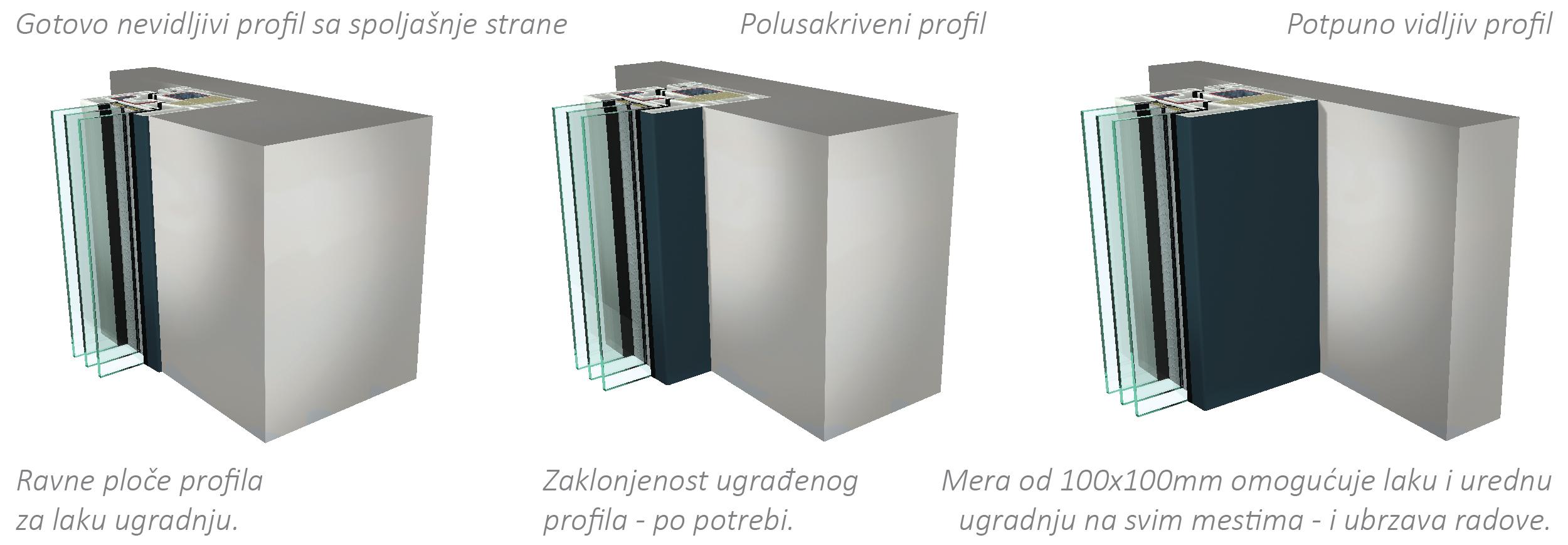 GEALAN-KUBUS® kao potpuno novi dizajn za PVC prozore u arhitekturi