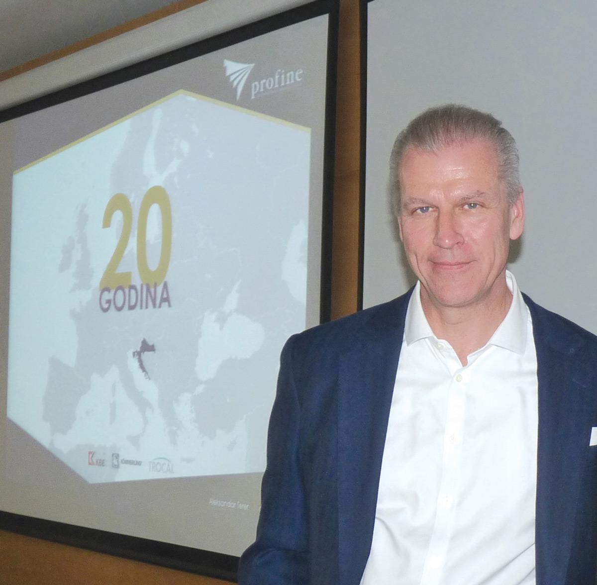 Dr. Peter Mrosik, vlasnik i CEO profine Group GmbH