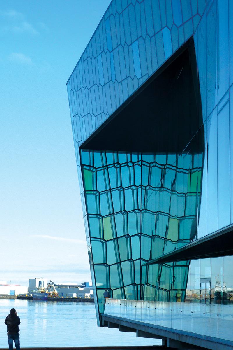 Harpa Concert Hall and Conference Center Reykjavek, Henning Larsen Architects