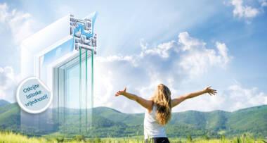 Energetska učinkovitost je, naravno, možda i najvažnije svojstvo prozora