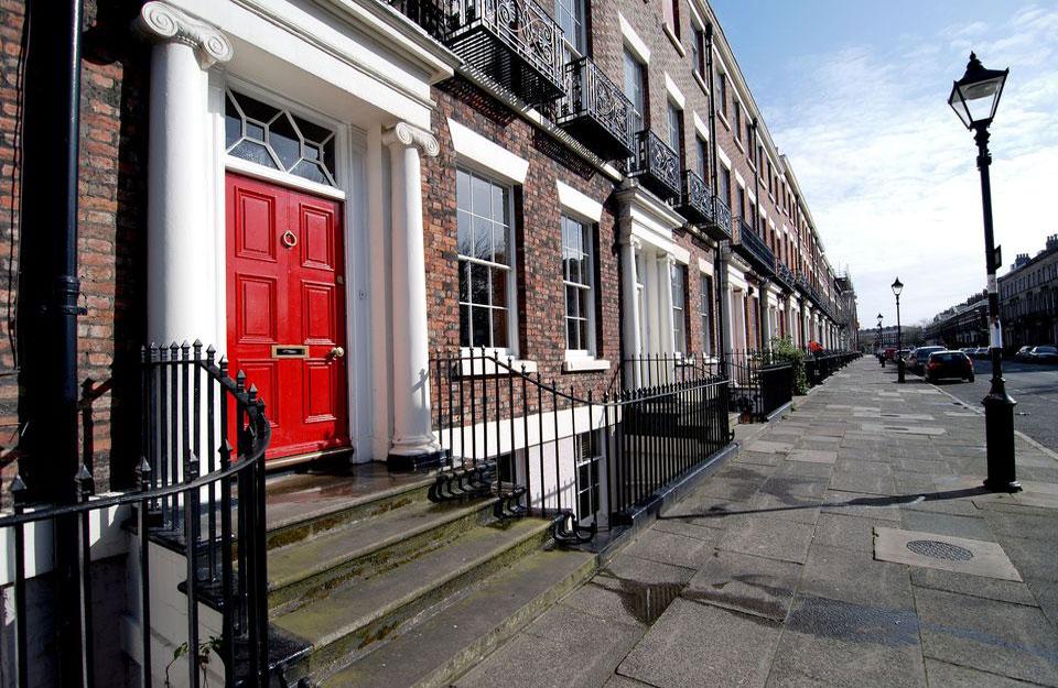 Crvena vrata su česta u Britaniji
