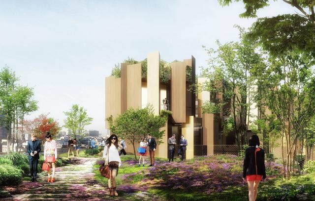 """Nedavni slični projekti uključuju luksuzni hotel u Sao Paolu koji je projektovao Žan Nuvel i """"Beirut tower"""" firme Herzog & de Meuron."""