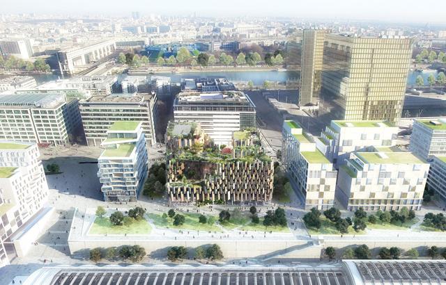 Balkoni će se nalaziti iza drvenih blokova na strani ulice