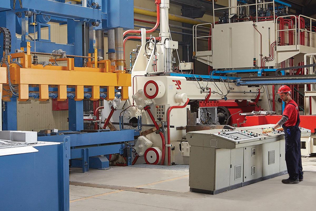 Nova presa za proizvodnju arhitektonskih i industrijskih profila, kapaciteta od 10.000t godišnje