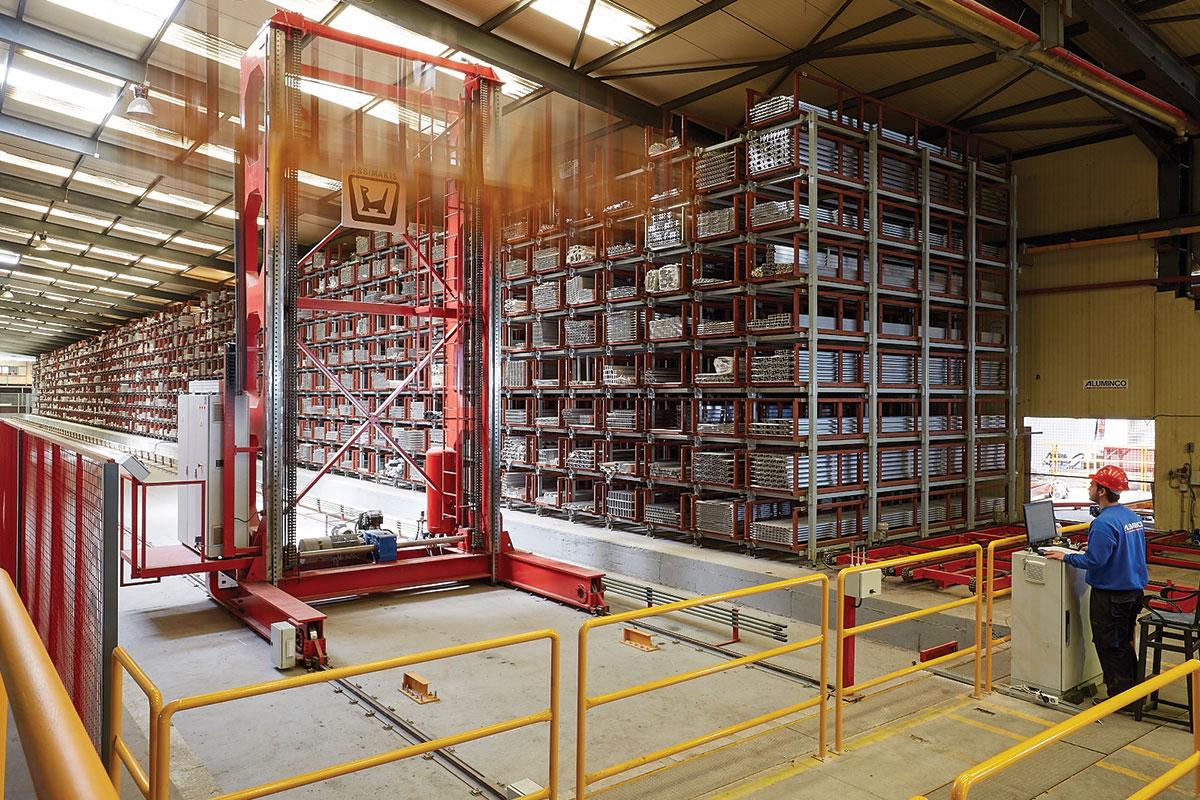 Novo automatsko skladište profila sa 1.700 mesta