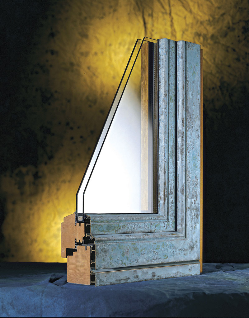 Aluminijum-drvo profil za prozore