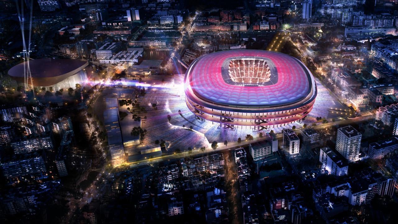 Novi projekat, rekonstrukcija - Camp Nou stadiona u Barseloni, Španija