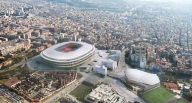 Novi projekat, rekonstrukcija - Camp Nou stadion u Barseloni, Španija