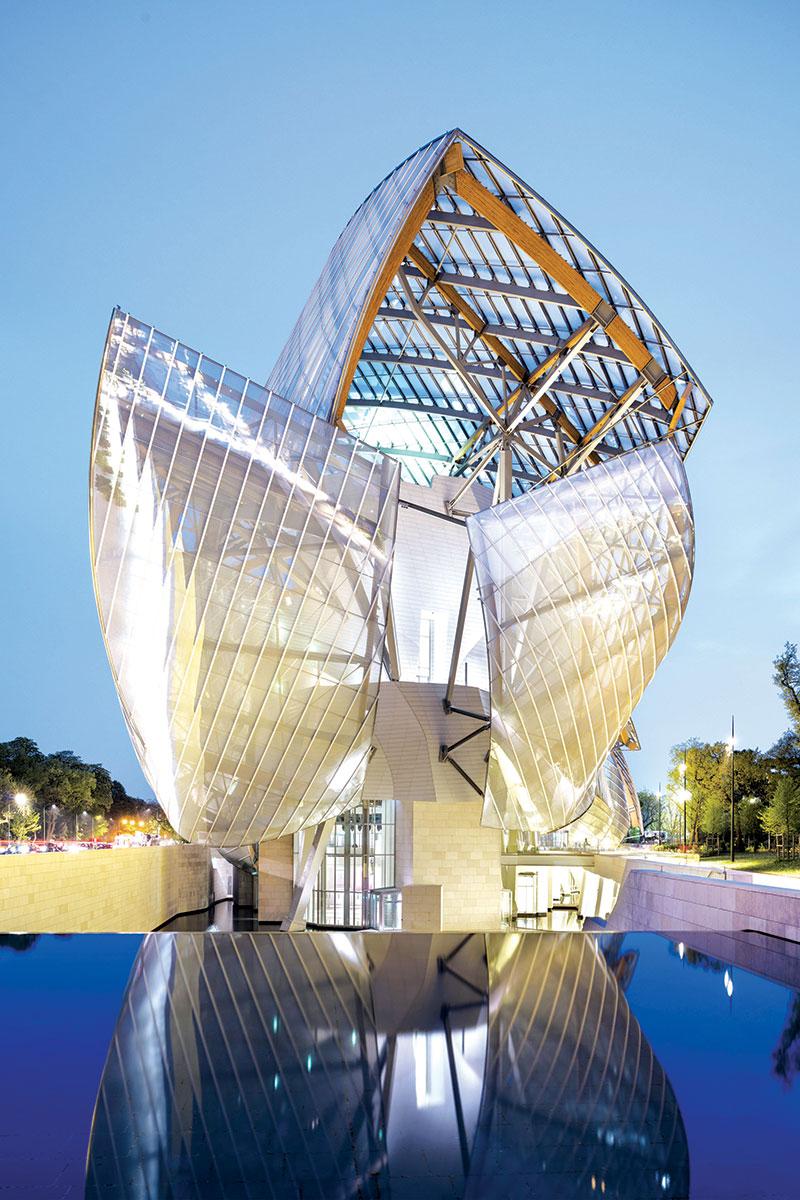 Frank Gehry,  Fondation Louis Vuitton, Paris