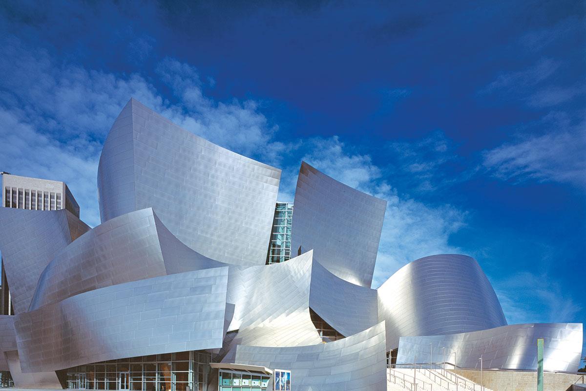 Frank Gehry, Walt Disney Concert Hall, Los Angeles, California