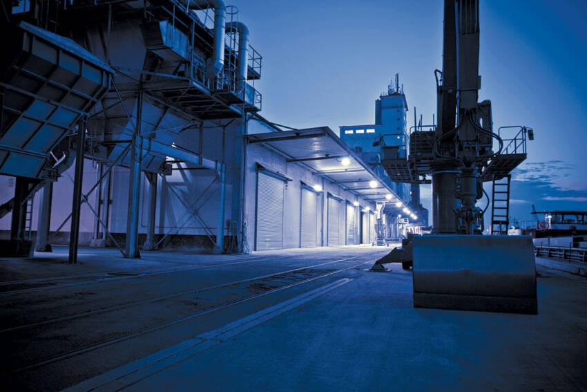 Industrijska rolo vrata skladište